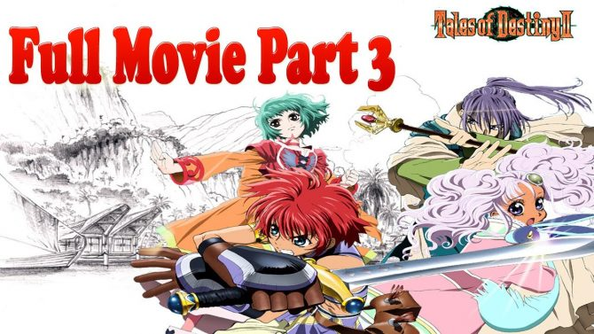 Tales of Eternia Full Movie All Cutscenes Part 3 (Tales of Destiny 2)